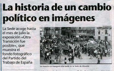 """""""OTRA TRANSICIÓN FUE POSIBLE. HISTORIA DEL PTE"""""""