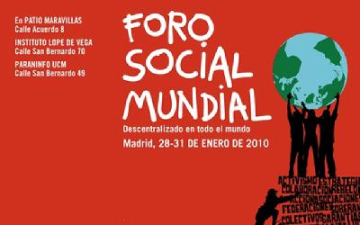 DOS TALLERES EN EL III FORO SOCIAL MUNDIAL DE MADRID