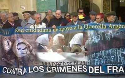 APOYO A LA QUERELLA ARGENTINA