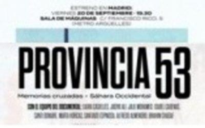 PROVINCIA 53. EL SÁHARA 43 AÑOS DEPUES