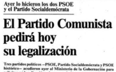 EL FRACASO DE LA RUPTURA DEMOCRÁTICA