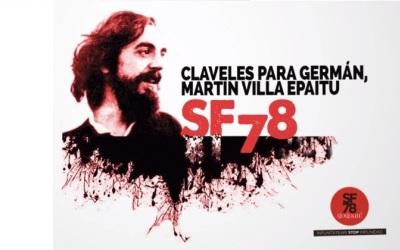 CLAVELES PARA GERMÁN, MUERTO EN SAN FERMÍN' 78