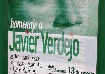 Homenaje a Javier Verdejo